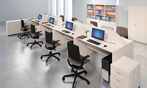 Мебель для call-центров «Матрица»